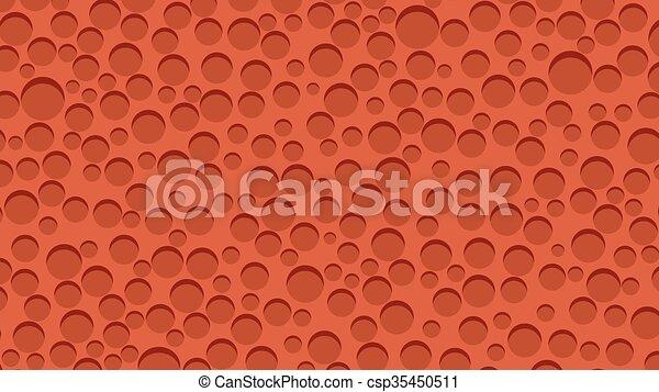 Red sponge background - csp35450511