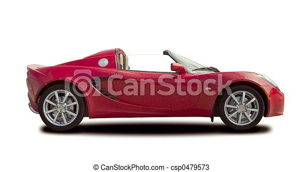 red sport car - csp0479573