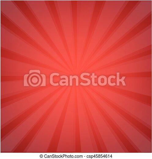 Red Sunburst - csp45854614