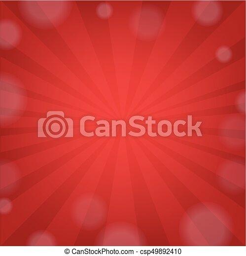 Red Sunburst - csp49892410