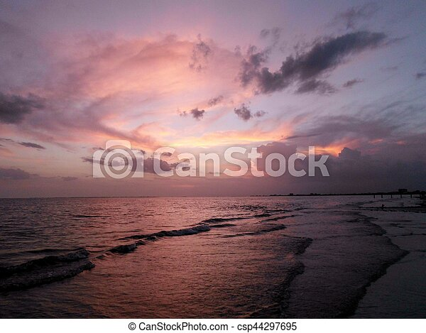 Red Sunset - csp44297695