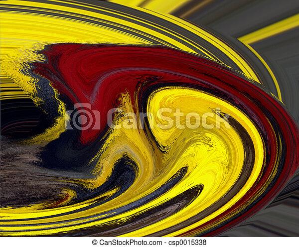 Red Swirl - csp0015338