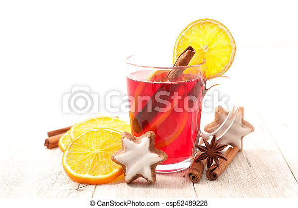 red tea for christmas - csp52489228