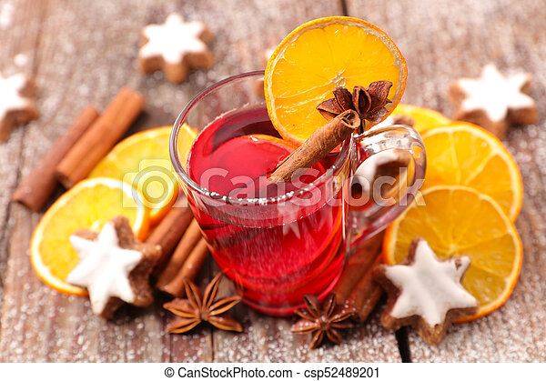 red tea for christmas - csp52489201