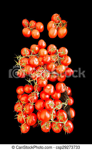 Red tomatoes for sale - csp29273733