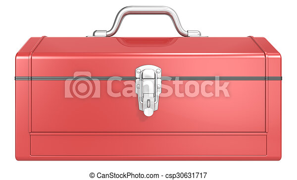 Red Toolbox. - csp30631717