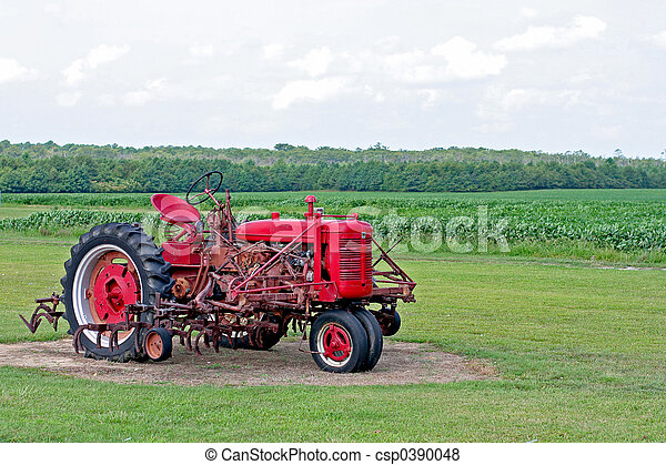 Red Tractor - csp0390048