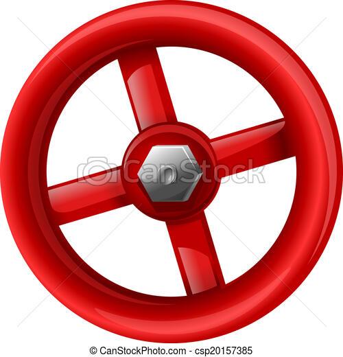 Red valve - csp20157385