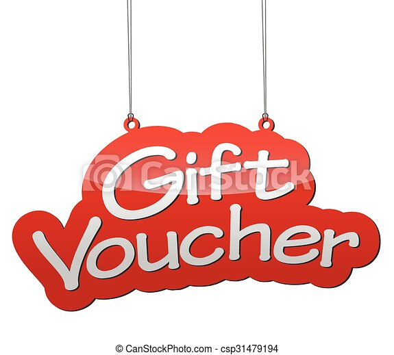 this is red vector illustration background tag gift voucher