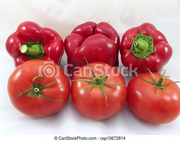 red vegetables - csp10672814