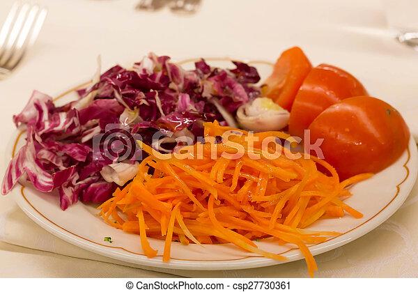 Red vegetables - csp27730361