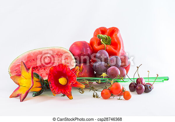 Red vegetables - csp28746368