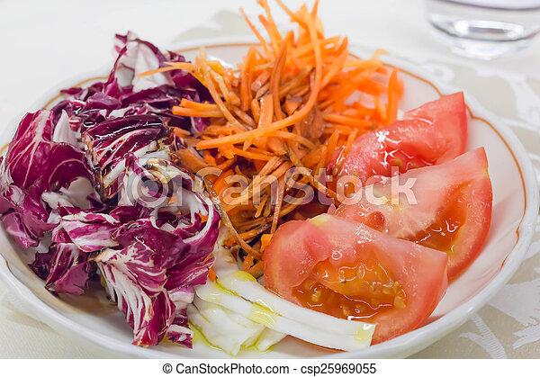 Red vegetables - csp25969055