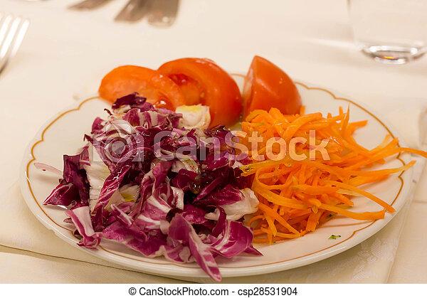 Red vegetables - csp28531904