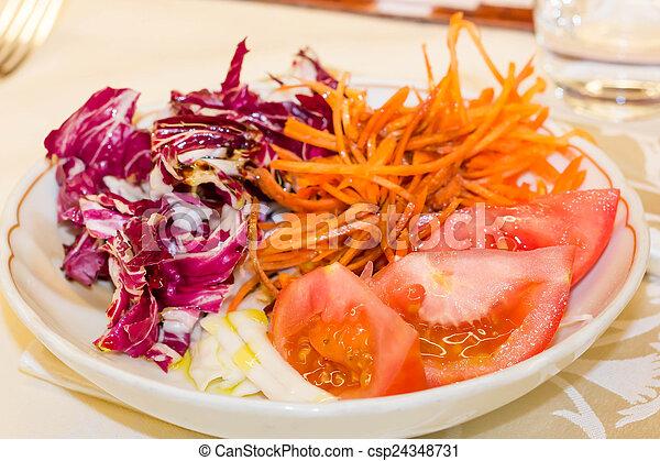Red vegetables - csp24348731