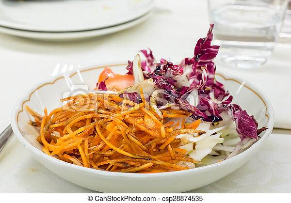 Red vegetables - csp28874535
