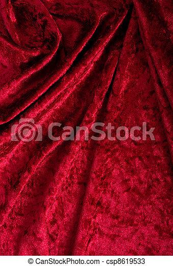 Red Velvet Background - csp8619533