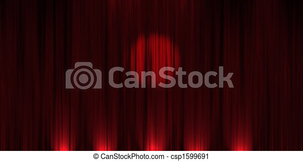 Red Velvet Stage Curtains, Scarlet Theatre Drapery Isolated On.. Royalty  Free Cliparts, Vectors, And Stock Illustration. Image 71092196.