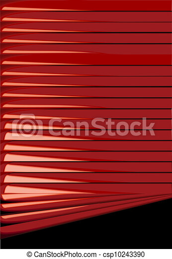 Red Venetian Blinds Backgrounds
