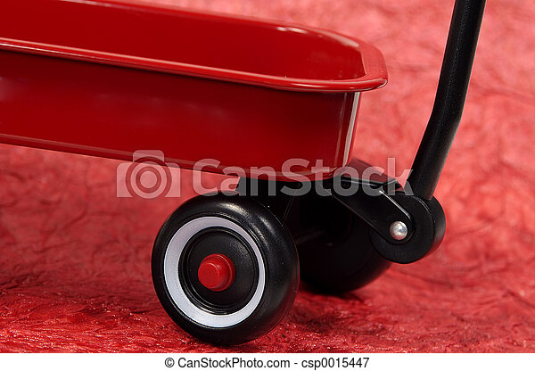 Red Wagon - csp0015447