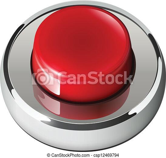 Red web button - csp12469794