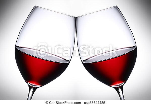 Red wine 3 - csp38544485