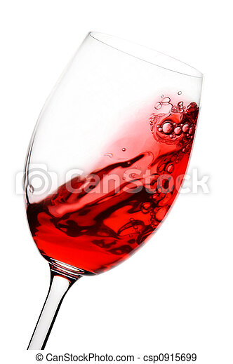 red wine in motion - csp0915699