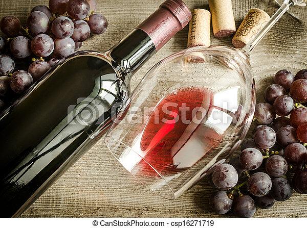 Red wine - csp16271719
