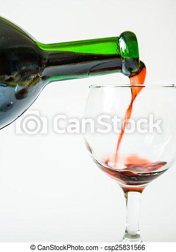 Red wine - csp25831566