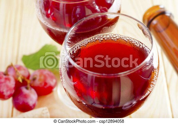 red wine - csp12894058
