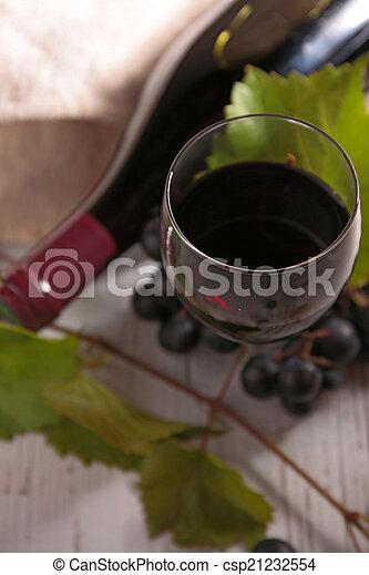 red wine - csp21232554