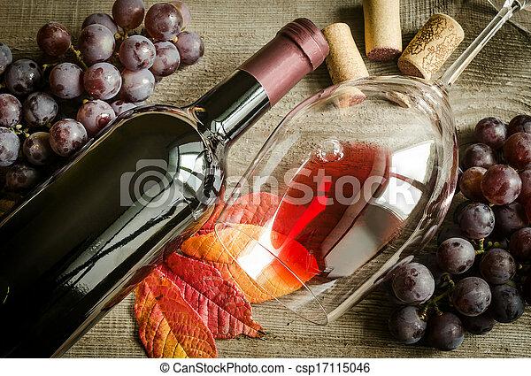 Red wine - csp17115046
