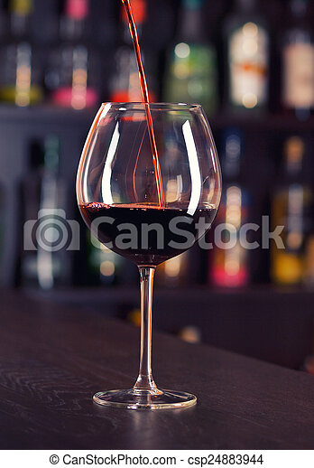 Red wine - csp24883944
