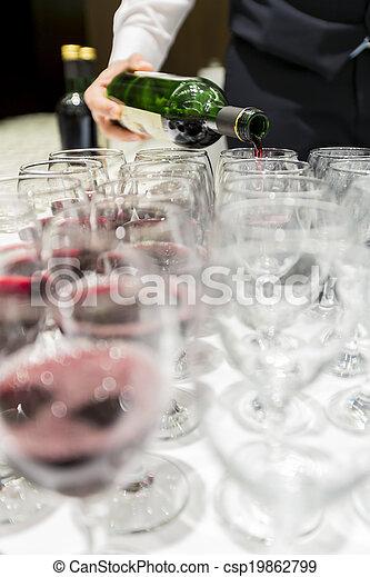 Red wine - csp19862799