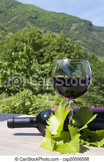 red wine - csp20006598