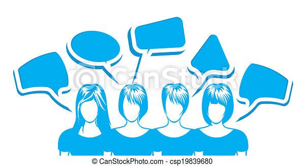 rede, social - csp19839680