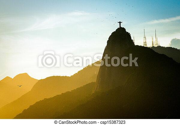 Cristo el redentor - csp15387323