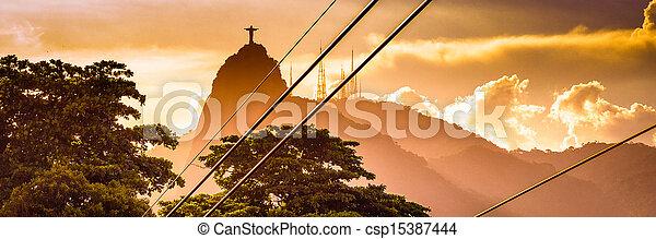 Cristo el redentor - csp15387444
