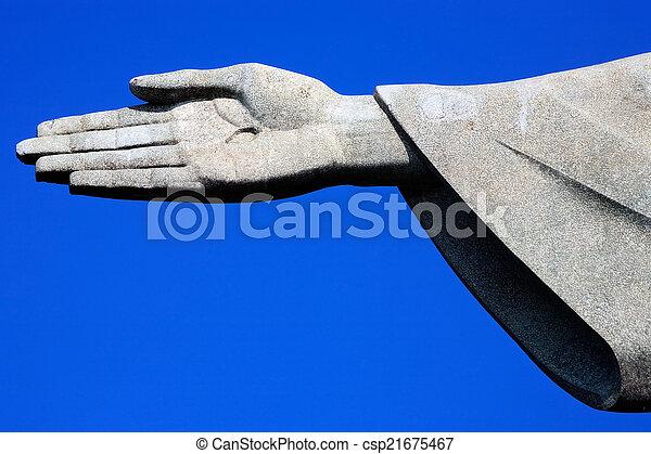 Cristo redentor - csp21675467