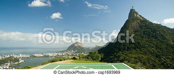 Cristo redentor en Río de Janeiro - csp1693969