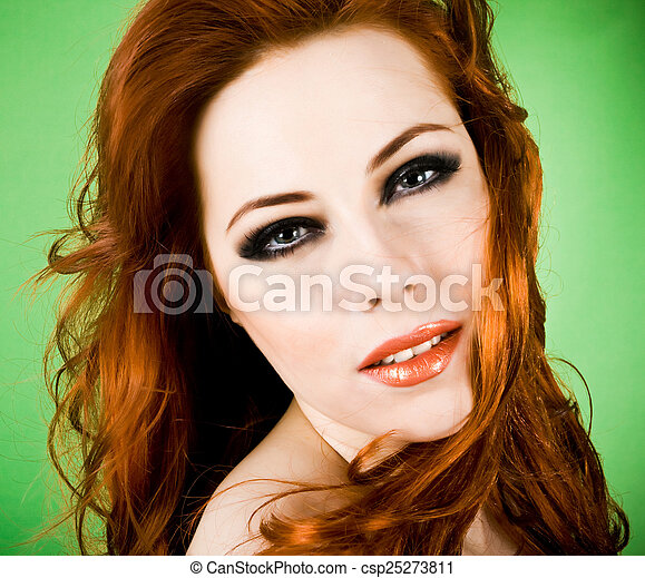 You tell Beautiful redhead images