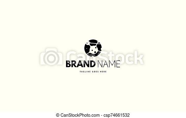 redondo, vetorial, cells., imagem, caule, abstratos, logotipo - csp74661532