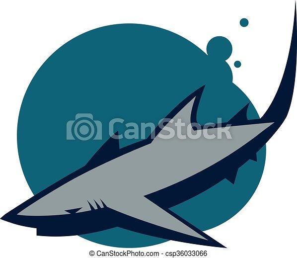 Reef Shark - csp36033066