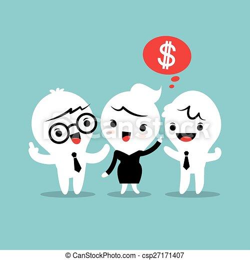 refer a friend referral concept illustration - csp27171407