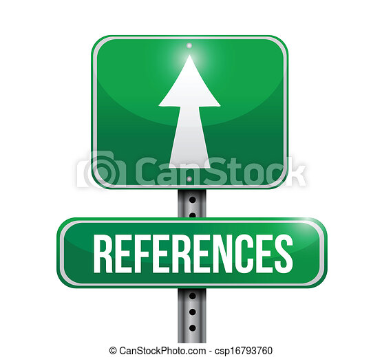 References road sign illustration design over a white... clip art ...
