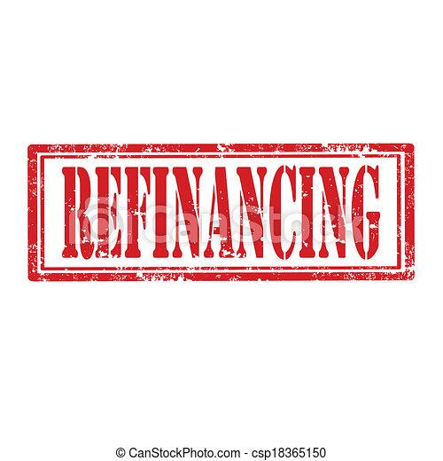 Refinancing-stamp - csp18365150