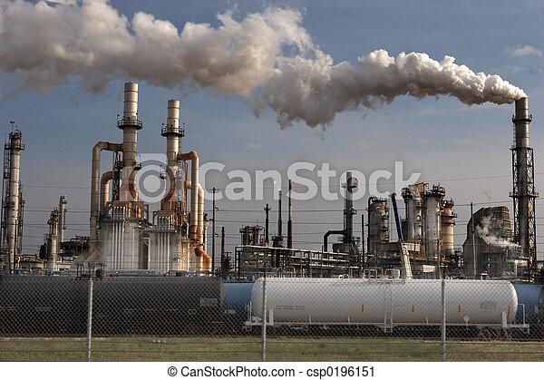 refinería, aceite - csp0196151