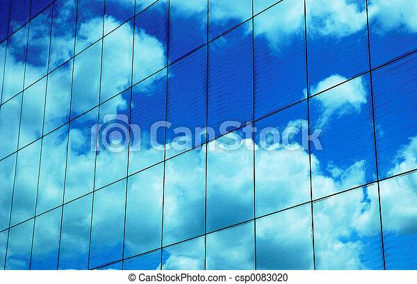 Reflected Sky - csp0083020