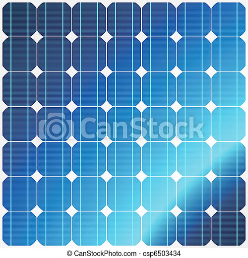 Reflection in solar panels - csp6503434