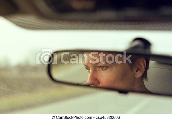 Face In The Rear View Mirror